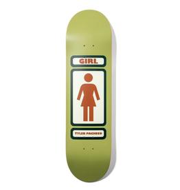 "Girl Skateboard Company Pacheco 93 Til 8.375"""