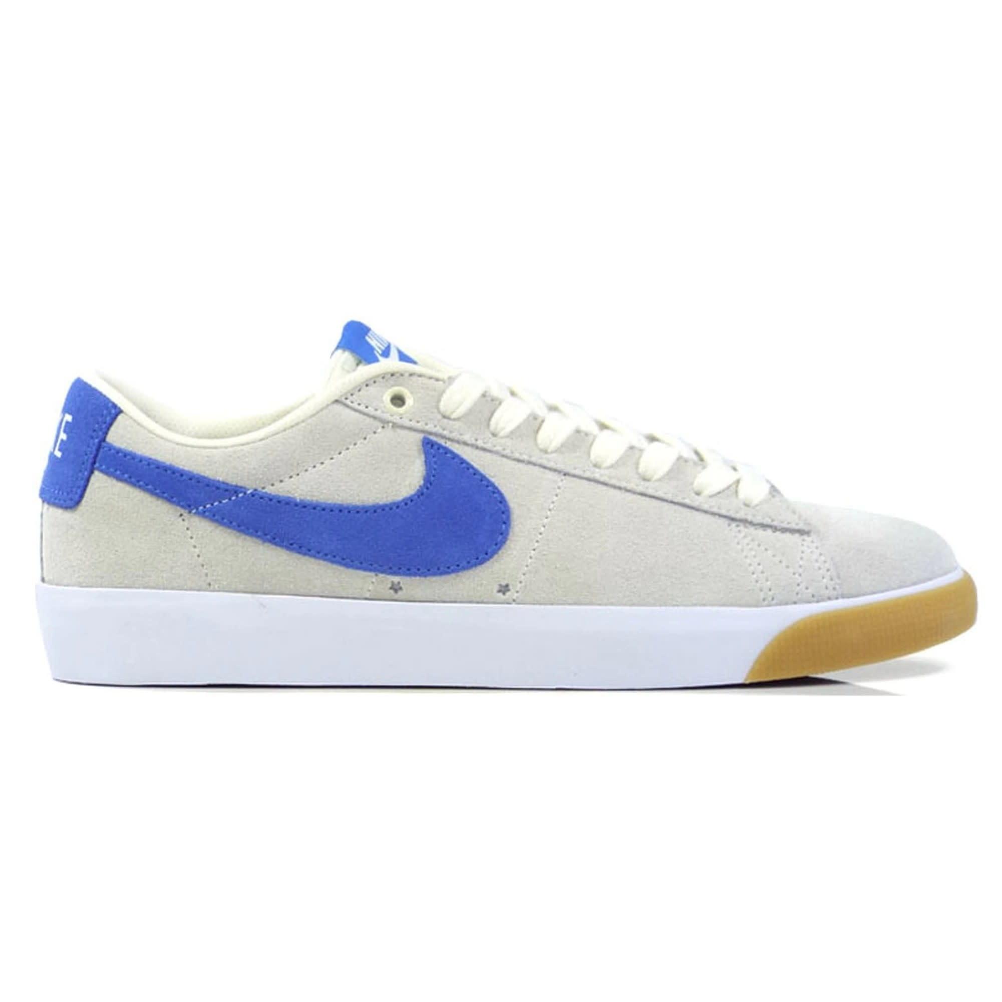 Nike USA, Inc. Nike SB Zoom Blazer Low GT Pale Ivory/Pacific Blue 13