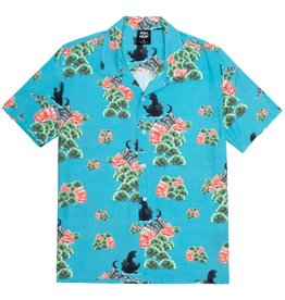 HUF Godzilla Resort Shirt Blue