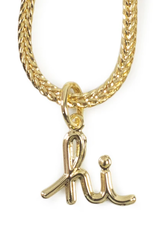 El Senor Hi Pendant Gold Plated Necklace