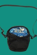 Bum Bag Shaolin Compact Blue Silk