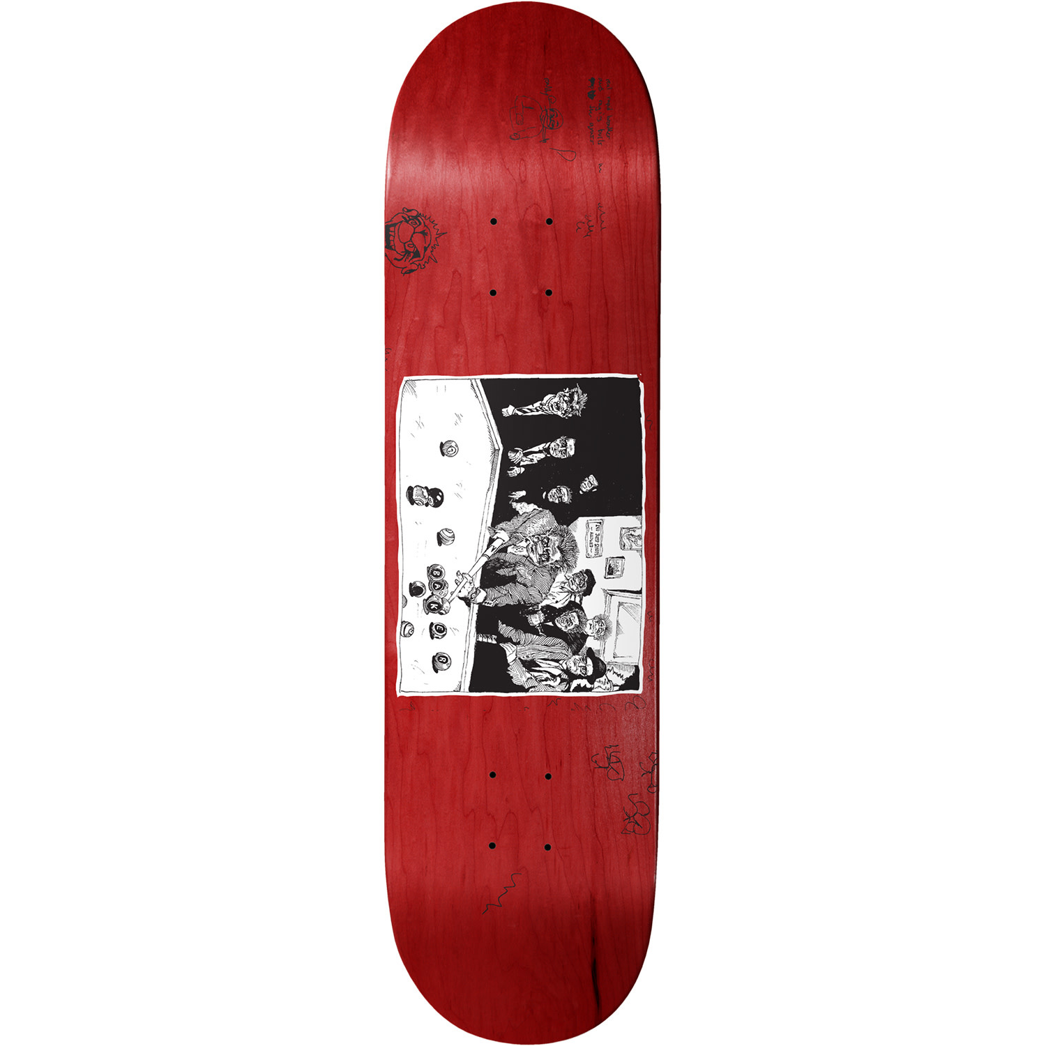 Baker Skateboards Santino Team 8.5""