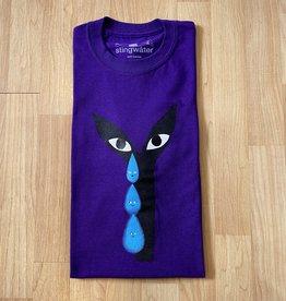 Stingwater Crying Aya Vapor Tears Purple Tee