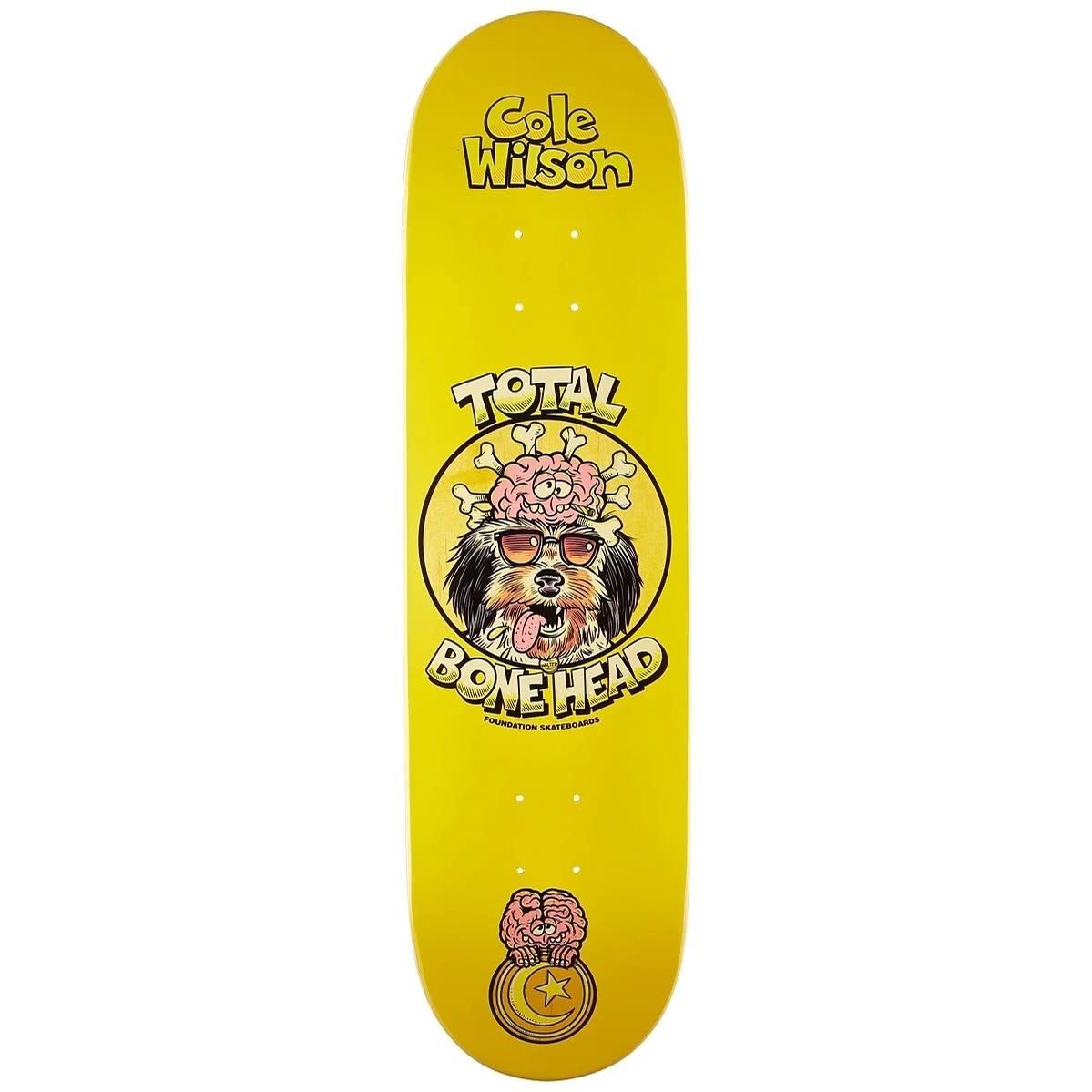 "Foundation Skateboards Wilson Brain Buddies 8.25"""