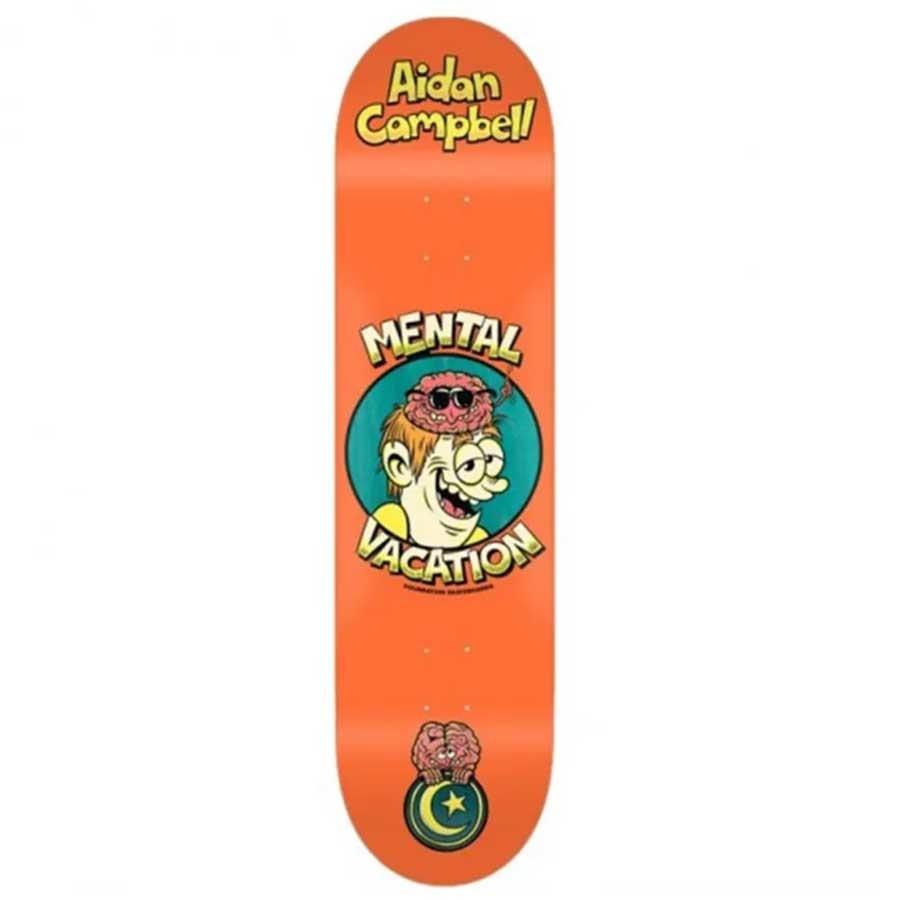 "Foundation Skateboards Aidan Brain Buddies 8.25"""
