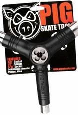 Pig Wheels Pig Tri-Socket Threader Black Tool
