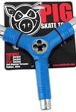 Pig Wheels Pig Tri-Socket Threader Blue Tool