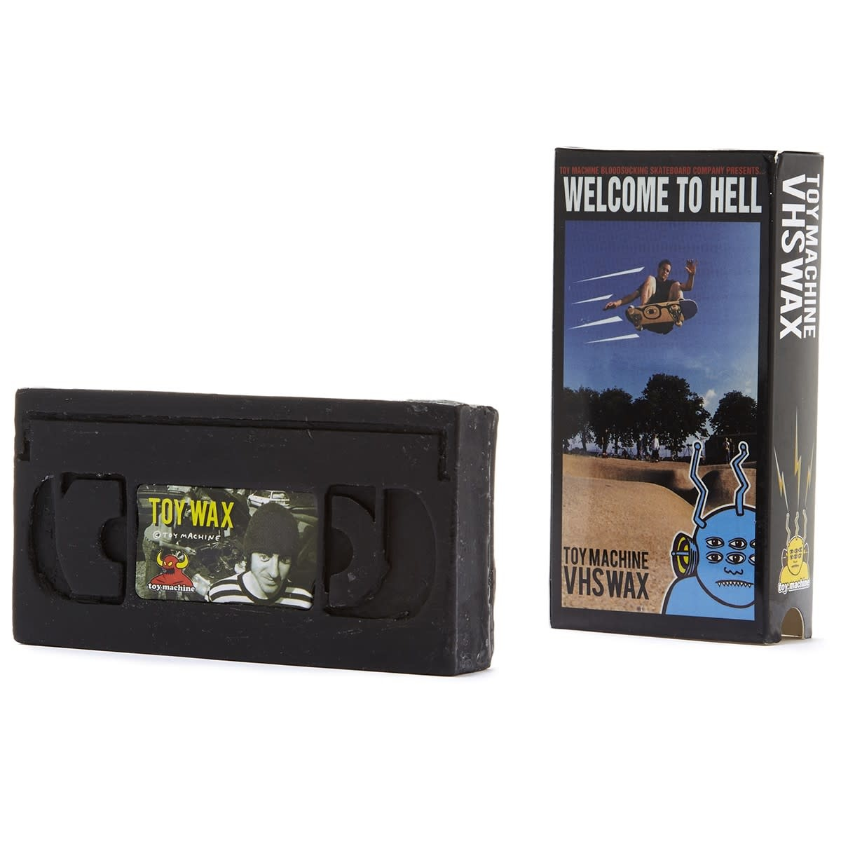 Toy Machine Welcome To Hell VHS Wax