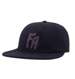 Fucking Awesome FA Formless 6 Panel Hat Black