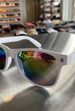 Glassy Sunglasses Leonard White/Color