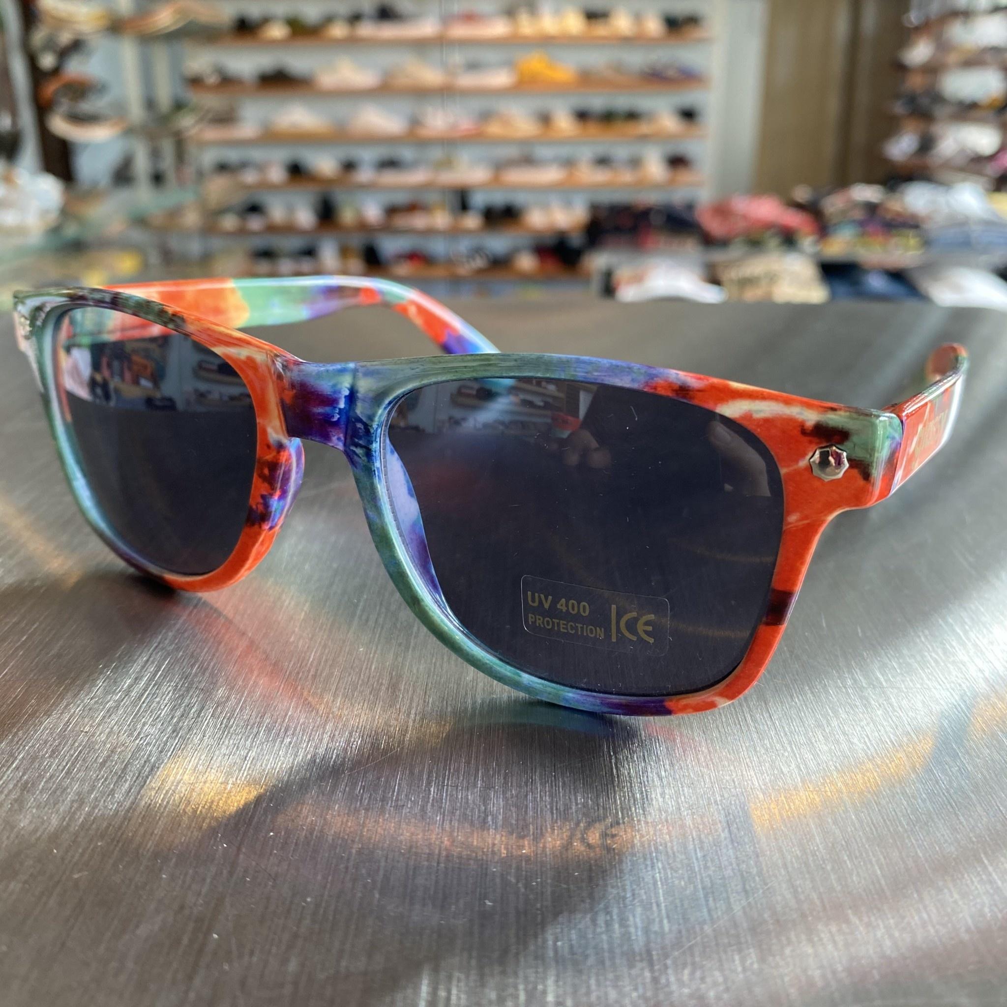 Glassy Sunglasses Leonard Tie Dye