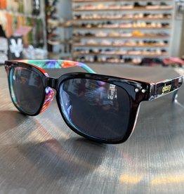 Glassy Sunglasses Lox Blk Tie-Dye