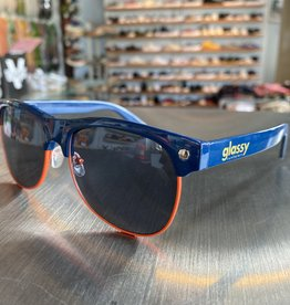 Glassy Sunglasses Shredder Navy/Org
