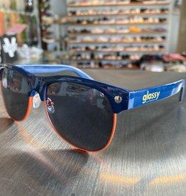 Glassy Sunglasses Shredder Navy/Org