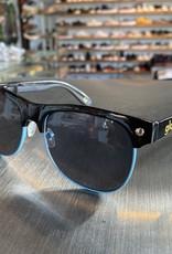 Glassy Sunglasses Shredder Blk/Blue Tri