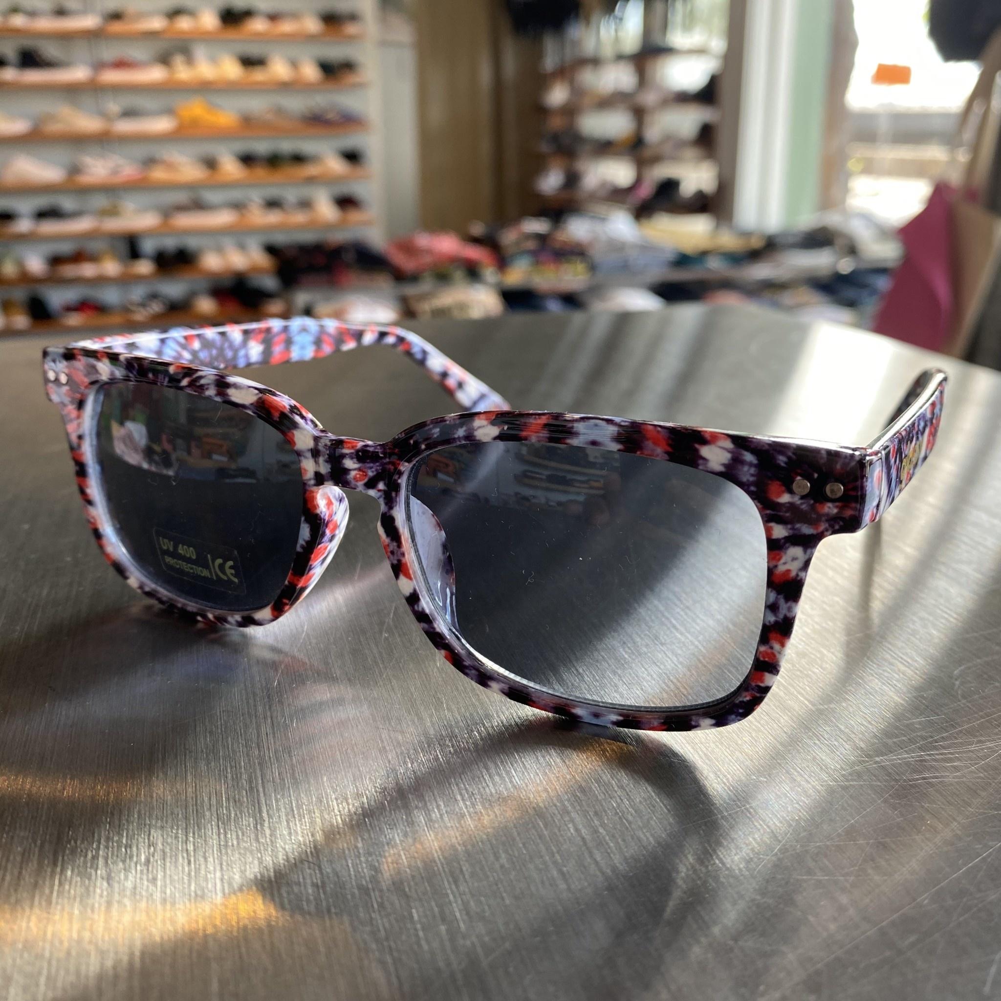 Glassy Sunglasses Lox Tie Dye