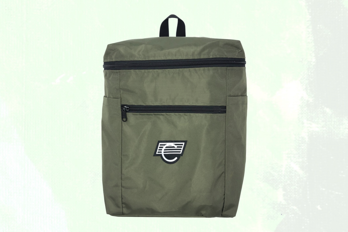 Coma Brand Coma Backpack Olive Green Nylon
