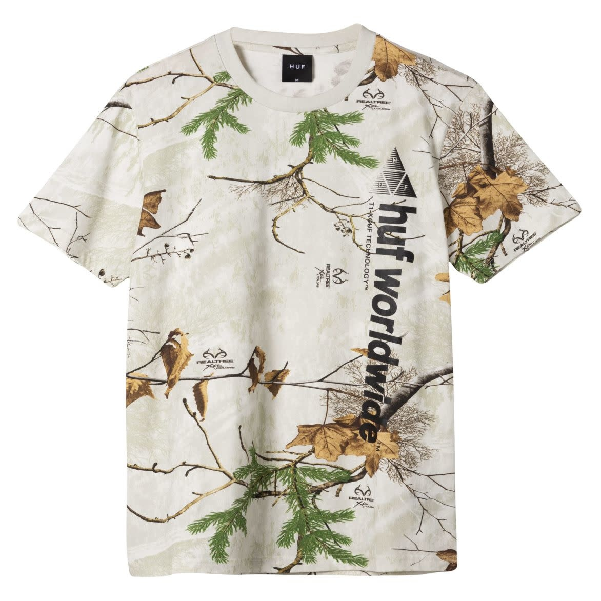 HUF Realtree Peak Logo Black