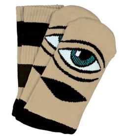 Toy Machine Sect Eye Big Stripe Camel Sock