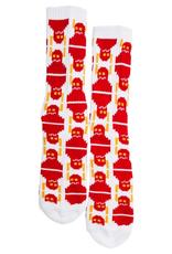 Toy Machine Digi Monster Crew White Sock