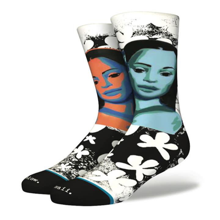 Stance Socks Puanani Black Large