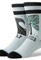 Stance Socks Aloha Surf Oblow Grey Medium