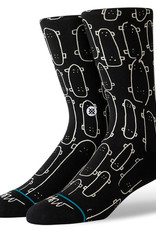 Stance Socks Oblow Quiver Black Large