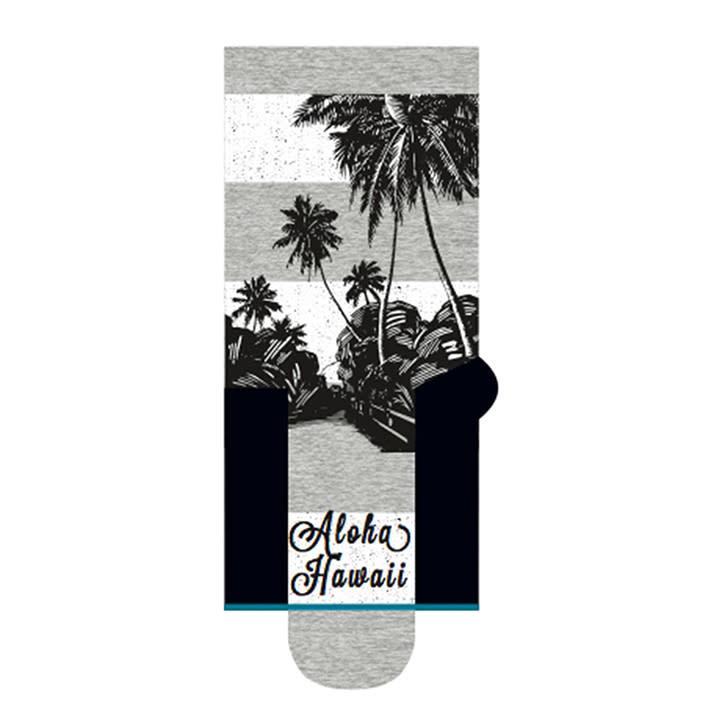 Stance Socks Waimoku Black/White Large