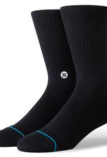 Stance Socks Icon Black/White Medium