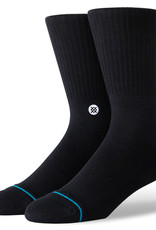 Stance Socks Icon Black/White Large