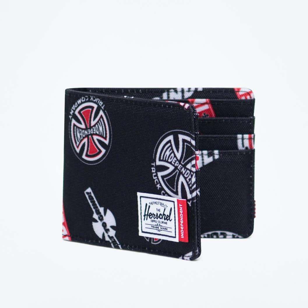 Herschel Supply Co Indepenedent Roy Wallet Multi Black