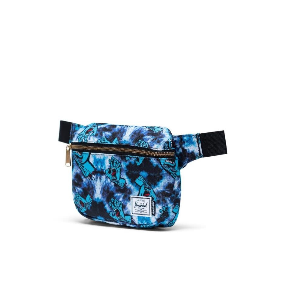 Herschel Supply Co Santa Cruz Fifteen Hip Pack Tie Dye Screaming Hand