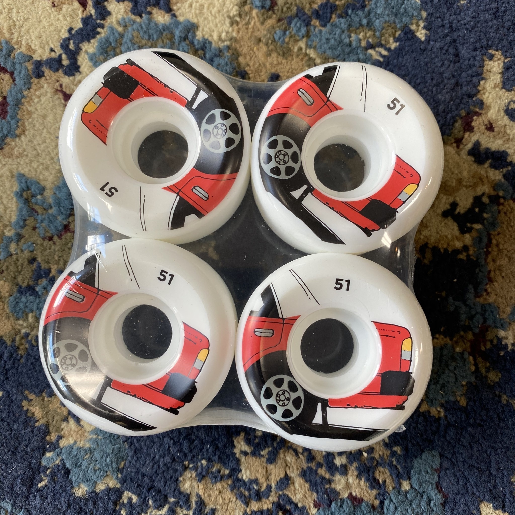 Chocolate Skateboards World Taxi Conical 51mm