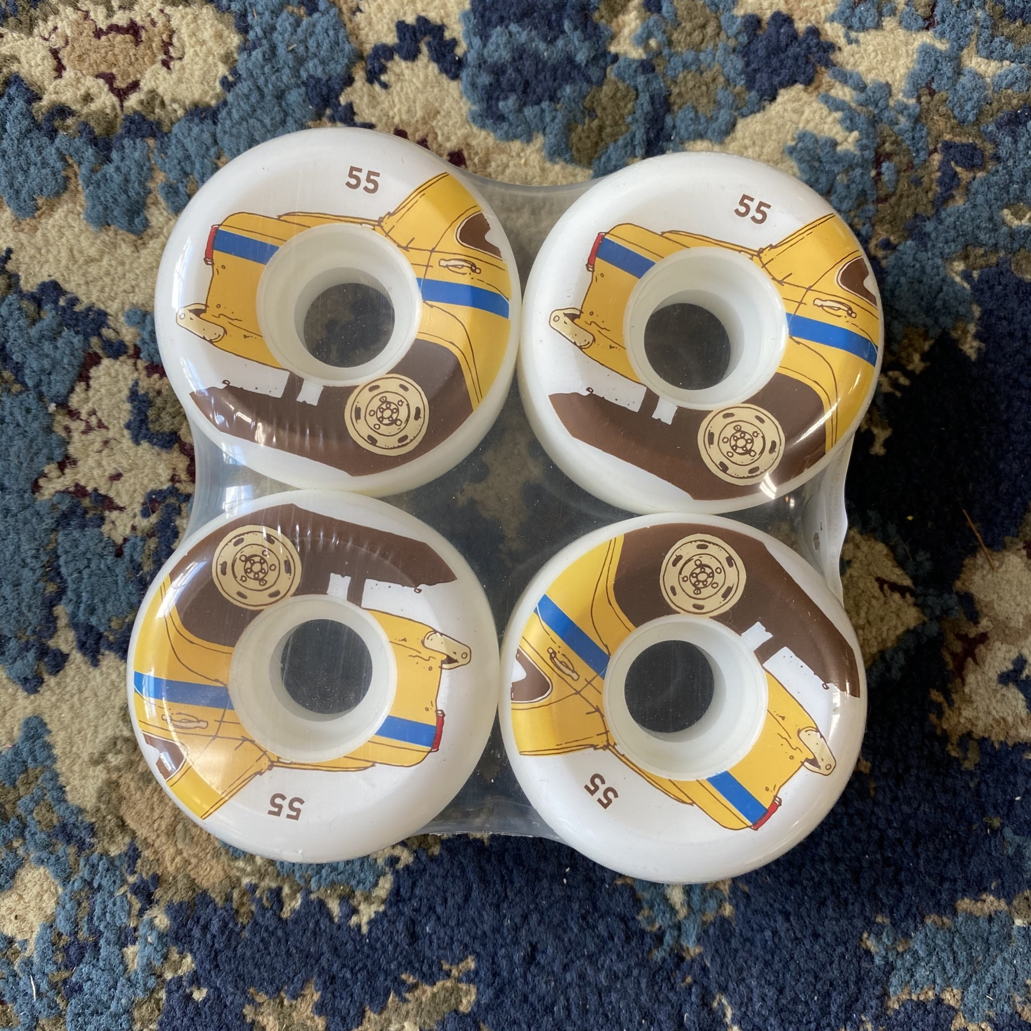 Chocolate Skateboards World Taxi Conical 55mm