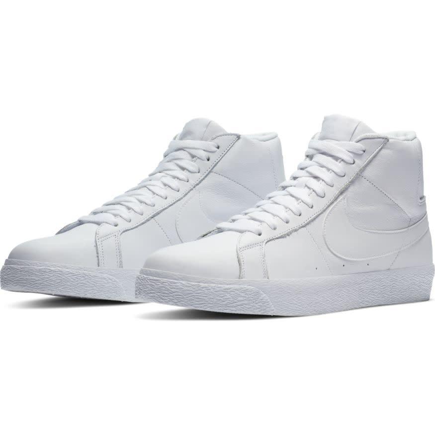 Nike SB Zoom Blazer Mid White/White