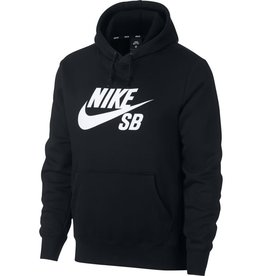 Nike USA, Inc. Nike SB Icon Hoodie Black/White
