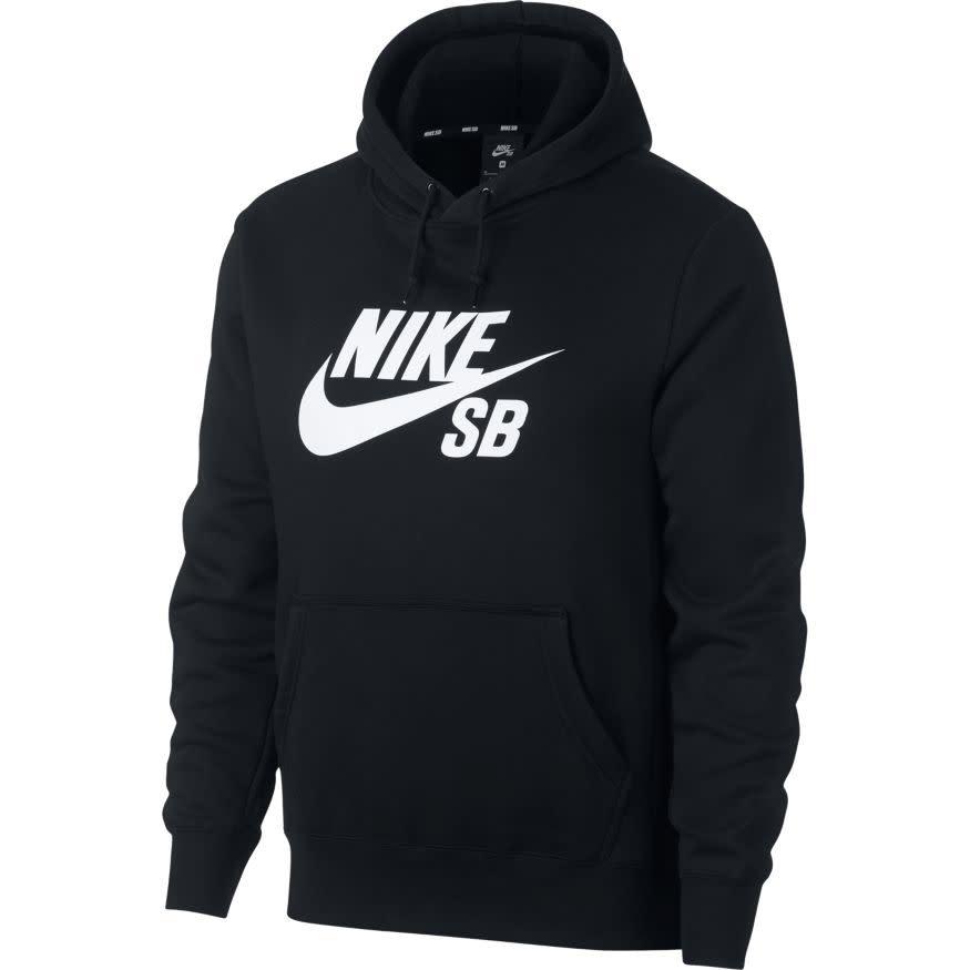 Nike USA, Inc. Nike SB Icon Hoodie Black/White
