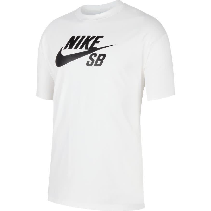 Nike USA, Inc. Nike SB Logo Tee White/Black