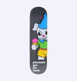Quasi Skateboards Go To Hell Black 8.25