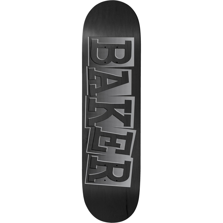 "Baker Skateboards RZ Ribbon Name Black B2 8.5"""