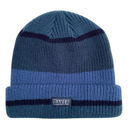 Baker Skateboards Brand Logo Blue Block Beanie