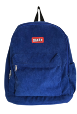 Baker Skateboards Brand Logo Royal Cord Backpack
