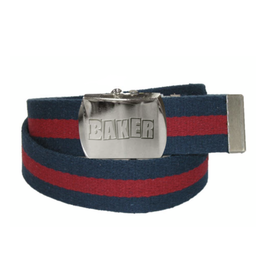 Baker Skateboards Brand Logo Blue/Red Web Belt