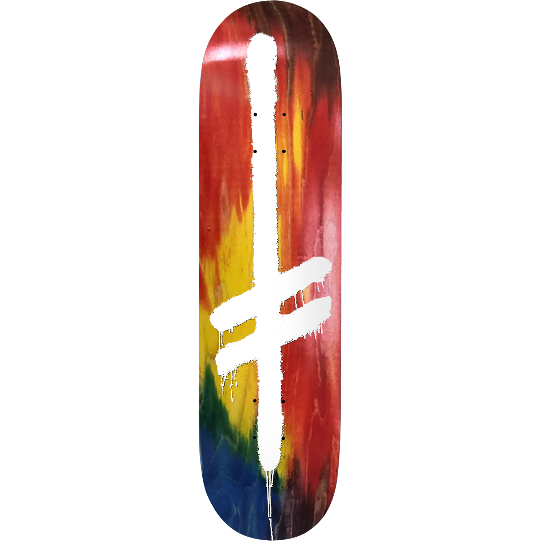 "Deathwish Skateboards Original G Tropical 8.25"""