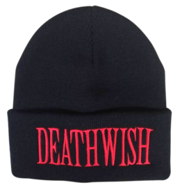 Deathwish Skateboards World Is Yours Black Beanie