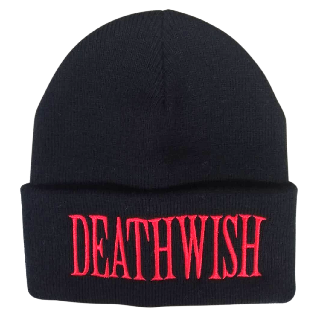 Deathwish Skateboards World Is Yours Black Beanie