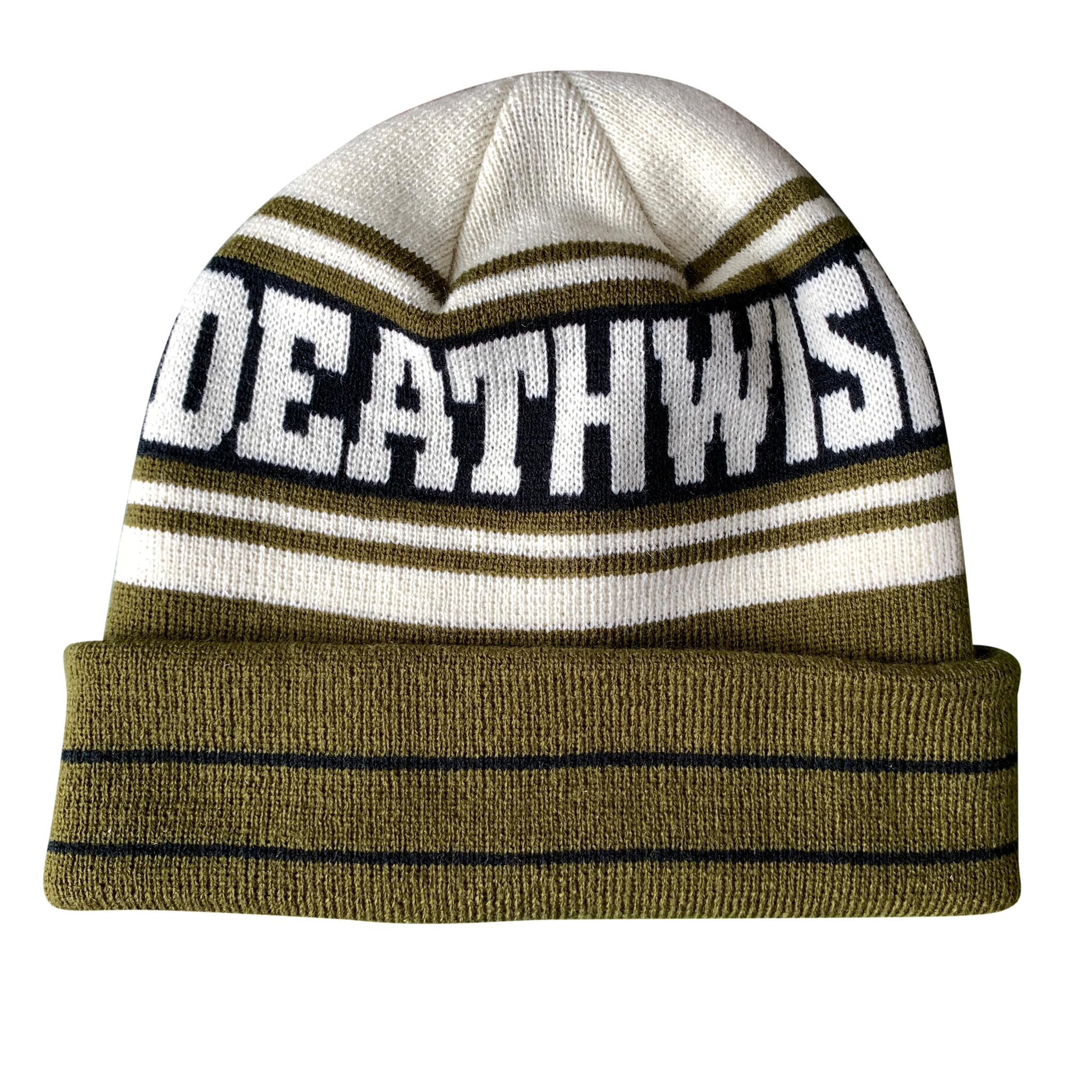 Deathwish Skateboards The Truth Olive/Tan Beanie