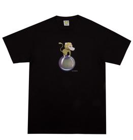 Frog Skateboards Monkey Bubble Black Large