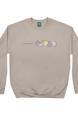 Frog Skateboards Black Master Crewneck Oatmeal Medium