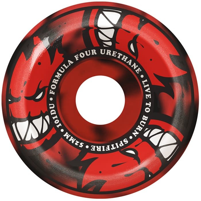 Spitfire Wheels Spitfire F4 101d Afterburn Black/Red 54mm